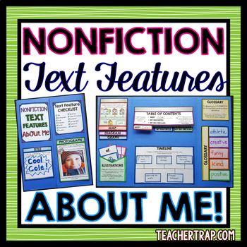 About Me Lapbook With Nonfiction Text Features