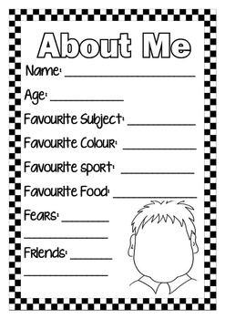 About Me Page Stage 1