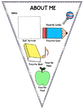 About Me Pennants