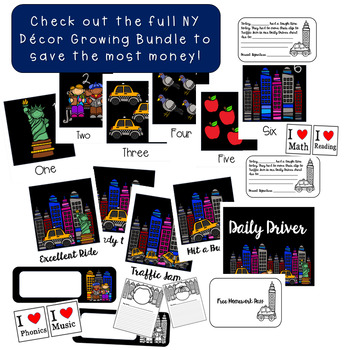 About Me Worksheets Printable New York City themed