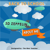 About Me Zeppelin {Back to school activity}