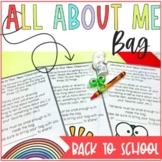 All About Me bag Pineapple Theme