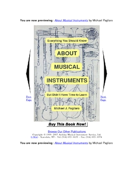 About Musical Instruments