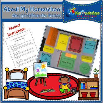 About My Homeschool Mini-Lapbook