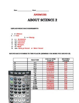 About Science 2