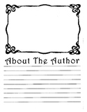About The Author Sheet Filagree Shape