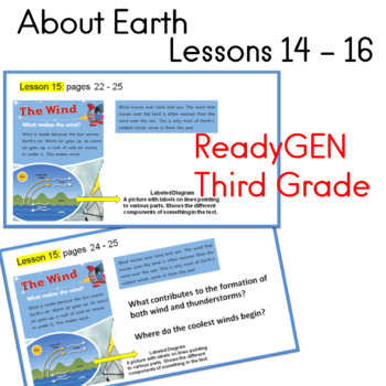ReadyGEN Third Grade About Earth Lessons 14 - 16