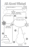 All About Winter: A Fill-in Poster