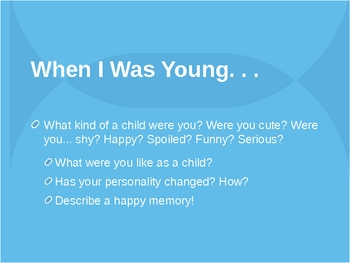 About You: Discussion Powerpoint