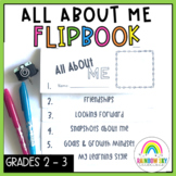 All About Me Flipbook - Back to School Australia {Years 2 -3}