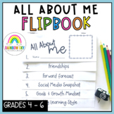 All About Me Flipbook - Back to School Australia {Years 4 -6}