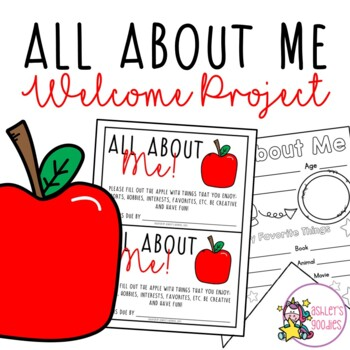 All About Me Welcome Project!