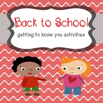 About me - back to school getting to know you