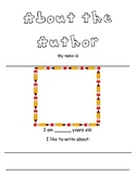 About the Author Cover for Writing Projects