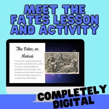 About the Fates (Greek Mythology)