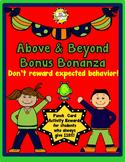 Above & Beyond Bonus Bonanza