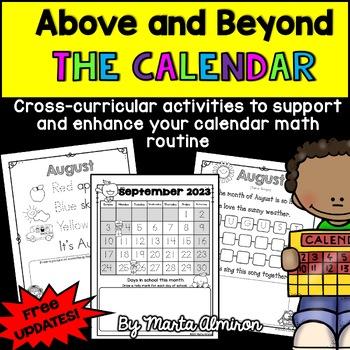 Above and Beyond the Calendar- Cross-curricular activities for calendar math