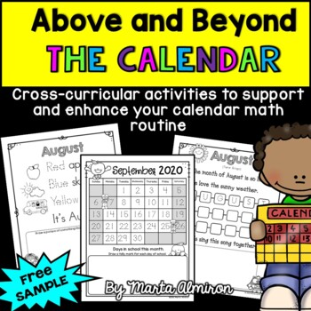 Above and Beyond the Calendar - FREE SAMPLE