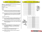Above 'n Bellow Battleship: Graphing Game & a Pattern Game