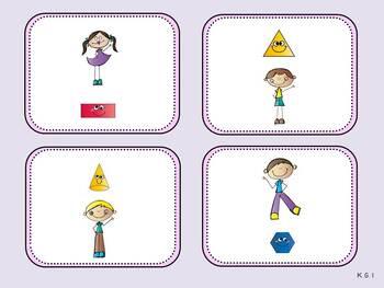 Above or Below Mat (Kindergarten Positional Words Activity, K.G.1)