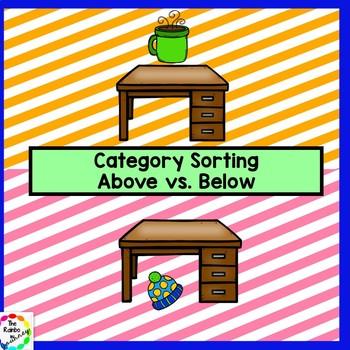 Above vs. Below Category Sorting