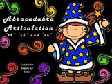 "Abracadabra Articulation ""sh"" ""ch"" and ""th"""