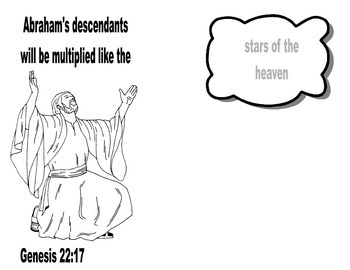Abraham & His Descendants Printable Project