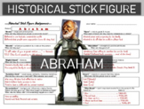 Abraham Historical Stick Figure (Mini-biography)