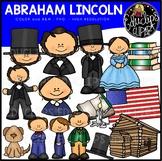 Abraham Lincoln Clip Art Bundle {Educlips Clipart}