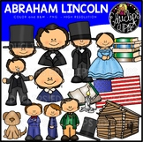 Abraham Lincoln Clip Art Bundle {Educlips Clipart}