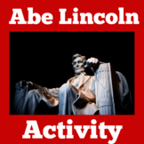 Abraham Lincoln Activity | Abe Lincoln Activity | Abraham Lincoln Biography