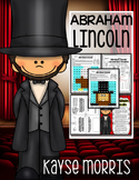 Abraham Lincoln Activities, Close Reading, Crafts, and More