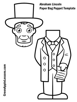 Abraham Lincoln Activity | Abraham Lincoln Craft | Abe Lincoln Craft