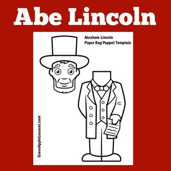 Abraham Lincoln Craft | Abraham Lincoln Writing Craft | Abe Lincoln Craft