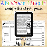 Abraham Lincoln - Comprehension Pack