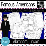 Abraham Lincoln- NO PREP Mini Unit {Famous Americans}