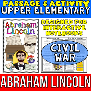 Abraham Lincoln: Biography Reading Passage: Civil War