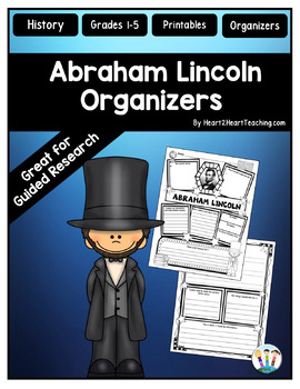 Abraham Lincoln Activities: Research Organizers for Poster Projects