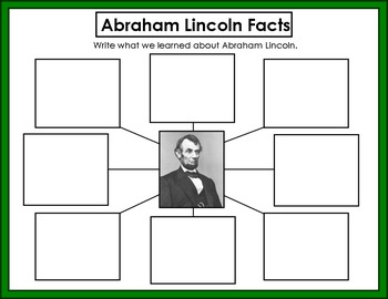 Abraham Lincoln Unit Kindergarten First Grade