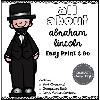 Abraham Lincoln Instant Reading Lesson