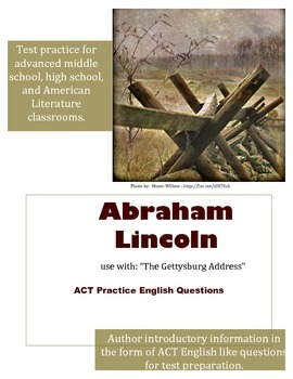 Abraham Lincoln ACT English Practice Questions