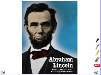 Abraham Lincoln - ActivInspire Flipchart - Interactive Big Book