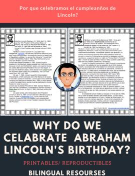 Abraham Lincoln Actividades