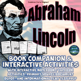 Abraham Lincoln Activities, Primary Source: The Civil War, and Test Prep Bundle