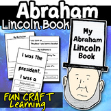 Abraham Lincoln Activity Craft Mini Hat Book