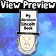 Abraham Lincoln Activity Craft Mini Hat Book