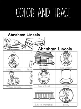 Abraham Lincoln Activity Pack