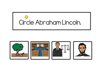 Abraham Lincoln Adapted Story