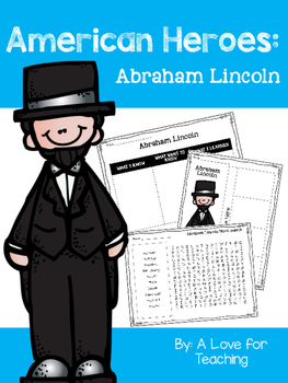 Abraham Lincoln {American Heroes}