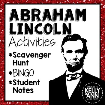 Abraham Lincoln Activity Bundle
